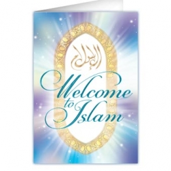 Welkomstkaart \'Welcome to islaam\'
