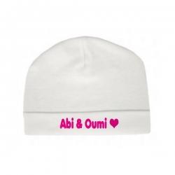 Babymutsje \'Abi & Oumi\'
