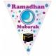 Decoratievlaggen Ramadan