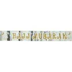 Banner 'Hajj Mubarak'
