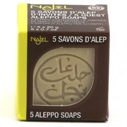 Aleppo zeep mini (5 stuks)
