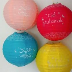 Eid Lampionnen 4-pack kleurenmix