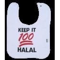 Slabbetje Keep it 100 Halal