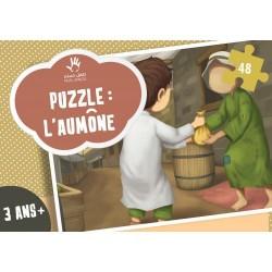 Puzzel 5 zuilen: zakat (armenbelasting)