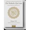 Nederlandse vertaling van de betekenissen van de Nobele Qor'aan Djoez' 26