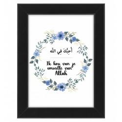 Ik hou van je omwille van Allah