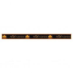 Banner Eid Mubarak goud/zwart