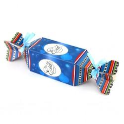 Eid snoepvormige doos blauw
