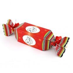 Eid snoepvormige doos rood