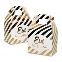Eid Mubarak doosje gestreept