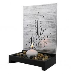 Theelicht decoratie Eid Mubarak hoog