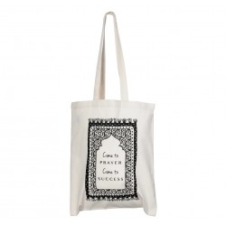 Tote bag katoen - Come to Prayer, Come to Success