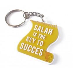 Sleutelhanger Salah is the key to Succes geel