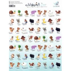 Stickers dieren NL-AR
