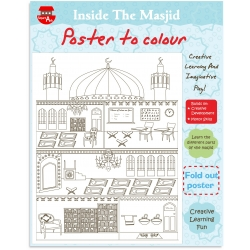 Kleurposter \'In de moskee\'