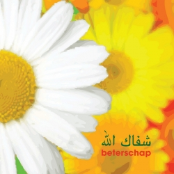 Islamitisch kaartje \'Beterschap\'